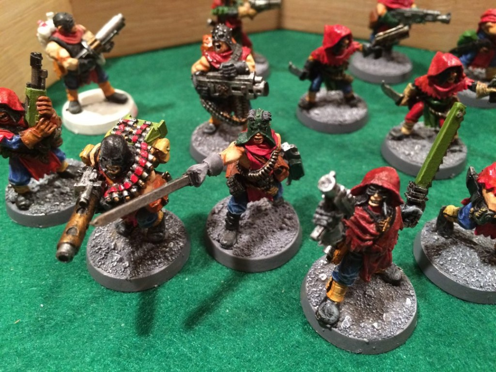 My only painted gang!