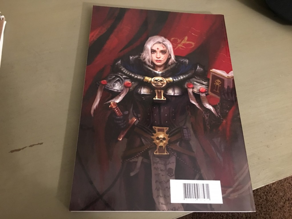 Back cover, I know it's not exactly Necromunda but you gotta love the bolter bitches!