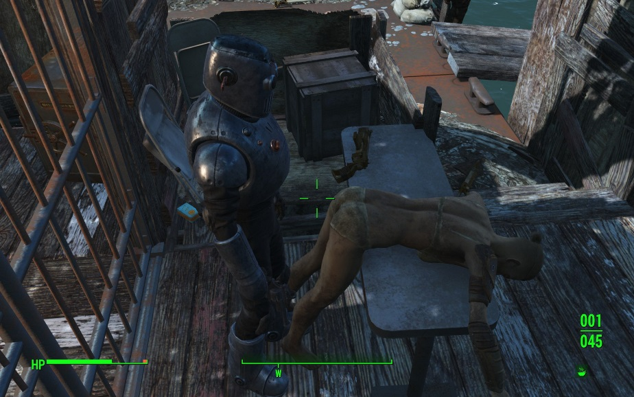 The wasteland, at times, gets a bit awkward.