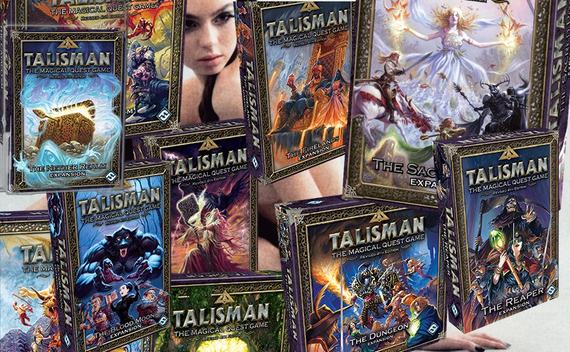 Buyers Guide to Fantasy Flight's Talisman