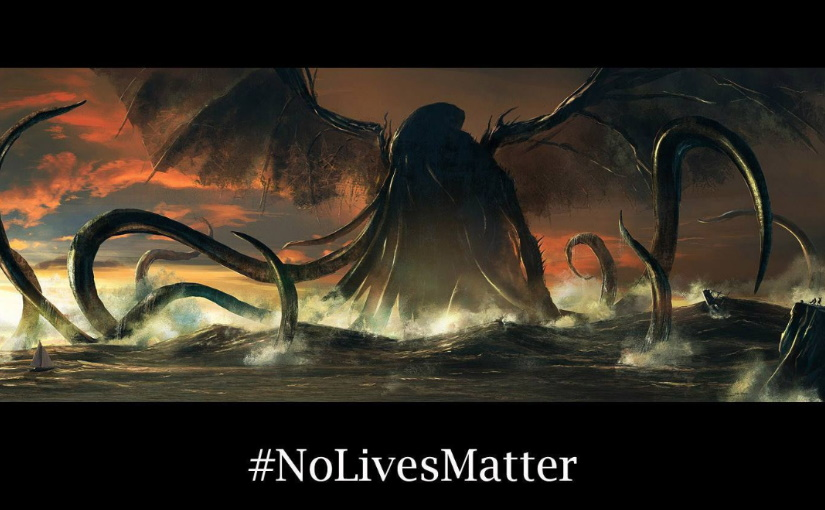 Cthulhu presidential campaign gets a new slogan!